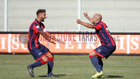 Taranto – Unicusano Fondi 2-0