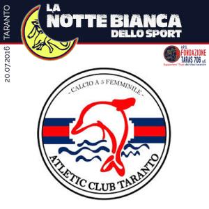 L' Asd Atletic Club Taranto calcio a 5 nasce nel 2012 dalla volontà del presidente Mimmo Aiello di creare una nuova realtà sportiva che possa portare con orgoglio il nome della nostra città. Il primo anno abbiamo partecipato al campionato Uisp, dal secondo anno in poi al campionato regionale Figc.