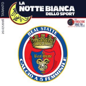 L'Italcave Real Statte nasce nel 1995 per opera di Tony Marzella, attuale allenatore della squadra. Con tanta passione e sacrificio, si è portata ai vertici nazionali ed internazionali, diventando un solido punto di riferimento del calcio a 5 femminile d'Italia. La squadra rossoblu è infatti la più titolata d'Italia con 3 scudetti, 4 coppe Italia e 4 Supercoppe Italiane.  L'Italcave Real Statte è l'unica squadra di Taranto e provincia militante in un massimo campionato, la A d'Elite del Futsal in rosa italiano. La società e' impegnata nel sociale, in quanto organizza diversi tornei giovanili e progetti con finalità dirette alla prevenzione dei fenomeni di devianza e dispersione dei ragazzi. Importante e meticolosa l'attività del settore giovanile per avvicinare ragazzi e ragazze al mondo del calcio a 5.
